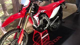 1. FIRST LOOK: 2019 Honda CRF450L Walk Around