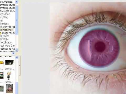 Video 0 de Photoscape: Cambiar color de ojos en