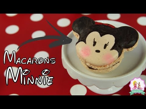♡• RECETTE MACARONS KAWAII MINNIE | INRATABLE •♡ видео