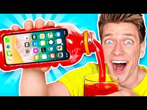 5 Amazing DIY Phone Cases! Learn How to Make The Best New Funny Slime iPhone & Samsung Case_A héten feltöltött legjobb vicces videók
