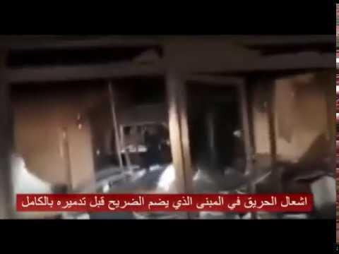 #فيديو :::  مليشيا تدمر قبر صدام حسين من قبل