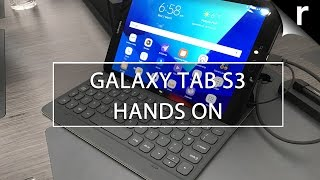 Samsung Galaxy Tab S3 hands-on review: We go hands-on with Samsung's Galaxy Tab S3, the latest Samsung Android tablet revealed at MWC 2017, for this first-lo...