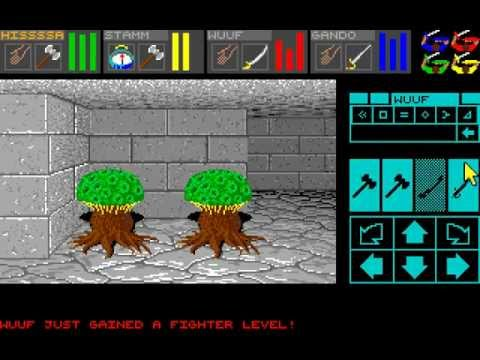 Amiga Longplay Dungeon Master