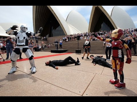 IRON BOY: Iron Boy saves SYDNEY in Make-A-Wish's latest DREAM COME TRUE MOMENT!