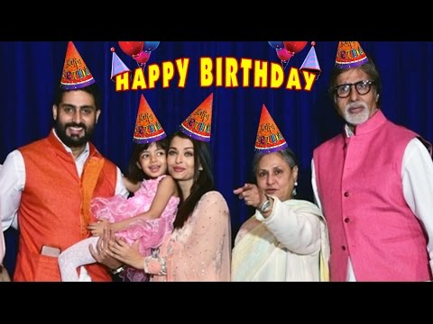 Video Aaradhya Bachchan's Birthday 2016 | Bachchan Family's great celebrations | All Bollywood Invited download in MP3, 3GP, MP4, WEBM, AVI, FLV January 2017