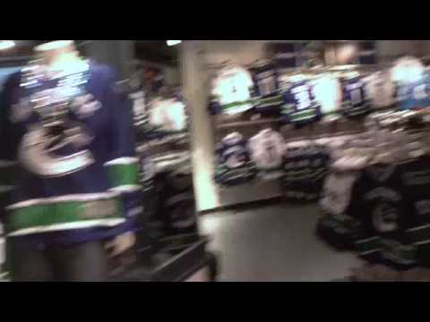Vancouver Canuck Store - Parksy's Corner