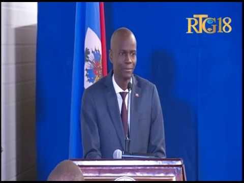Le Président de la République, Jovenel Moïse a procédé à l'investiture de la Commission nationale
