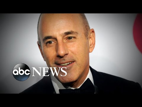 Matt Lauer accused of rape by former producer l ABC News