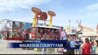 The Waukesha County Fair runs through Sunday at the Waukesha County Fairgrounds.Subscribe to WISN on YouTube for more: http://bit.ly/1emE5YXGet more Milwaukee news: http://www.wisn.com/Like us: http://www.facebook.com/wisn12Follow us: http://twitter.com/WISN12News