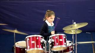 Junior Lunchtime Concert featuring Year 3, N Edwards, on the Drums