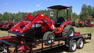 2. Mahindra 1526 4wd HST Tractor Package