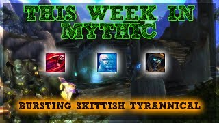 This week in mythic+! I ran a +13 Eye of Azshara with Bursting, Skittish and Tyrannical! Overall this week is pretty average. Bursting will slow you down and give you some trouble on big pulls but Skittish is avoidable if your DPS mind their threat and the tank keeps their finger on the taunt button just in case. Help Support the Channel directly! -http://www.patreon.com/befuddled_gamingHelp support the show by doing your Amazon shopping with our link! : http://amzn.to/2mYphhFTry Amazon Prime For Free for 30 days! : http://amzn.to/2mUEGz5Feel free to leave a comment down below letting me know what you think and if you have any additional ideas / insight on warrior tanks!If you like these guides let me know with a thumbs up and a subscription!Twitter: https://twitter.com/befudd_algernonMusic Credit:Antti Luode