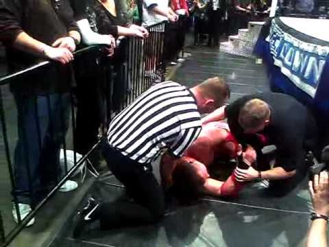 0 The Corre Attacks Vladimir Kozlov at Axxess