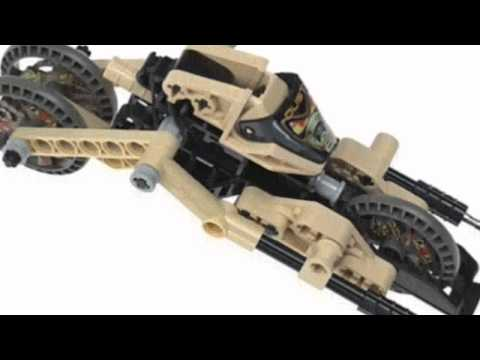 Video Cool product video released on YouTube for the Technic 8513 Dust Roboriders