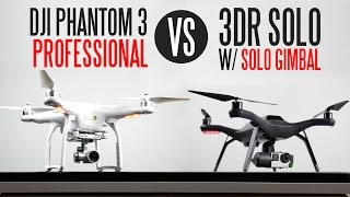 Here is our full Smart Drone comparison between the DJI Phantom 3 Professional vs the 3DR Solo With Solo Gimbal/GoPro Hero 4 Black. More info on the 3D ...
