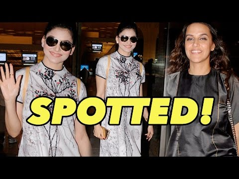 Urvashi Rautela, Neha Dhupia And Others Spotted At