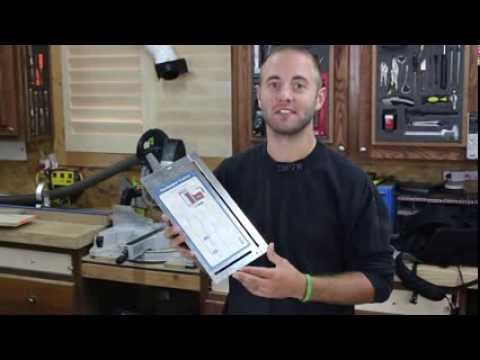 Rockler Sandpaper Cutter Demo