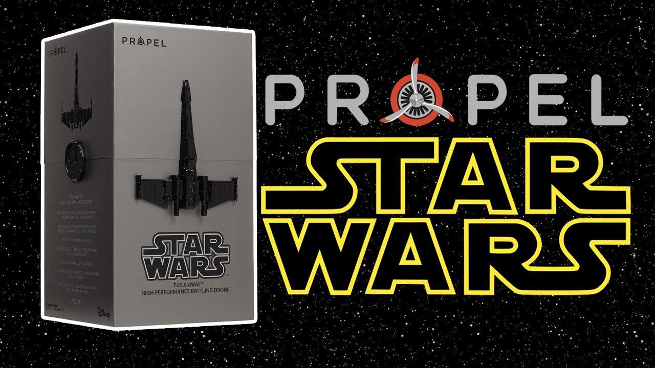 Drony Propel Star Wars - premiera