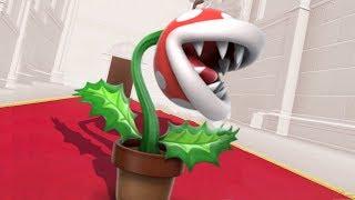 Piranha Plant in Super Mario Odyssey - Final Boss & Ending