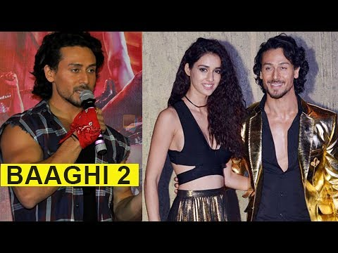 Tiger Shroff REACTS On Working With Disha Patani I