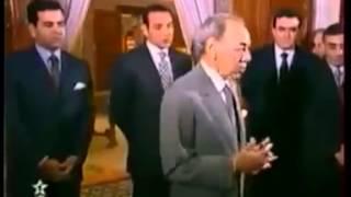 فيديو نادر يبين كيف كان يتعامل الحسن الثاني رحمة الله عليه مع أعضاء حكومته