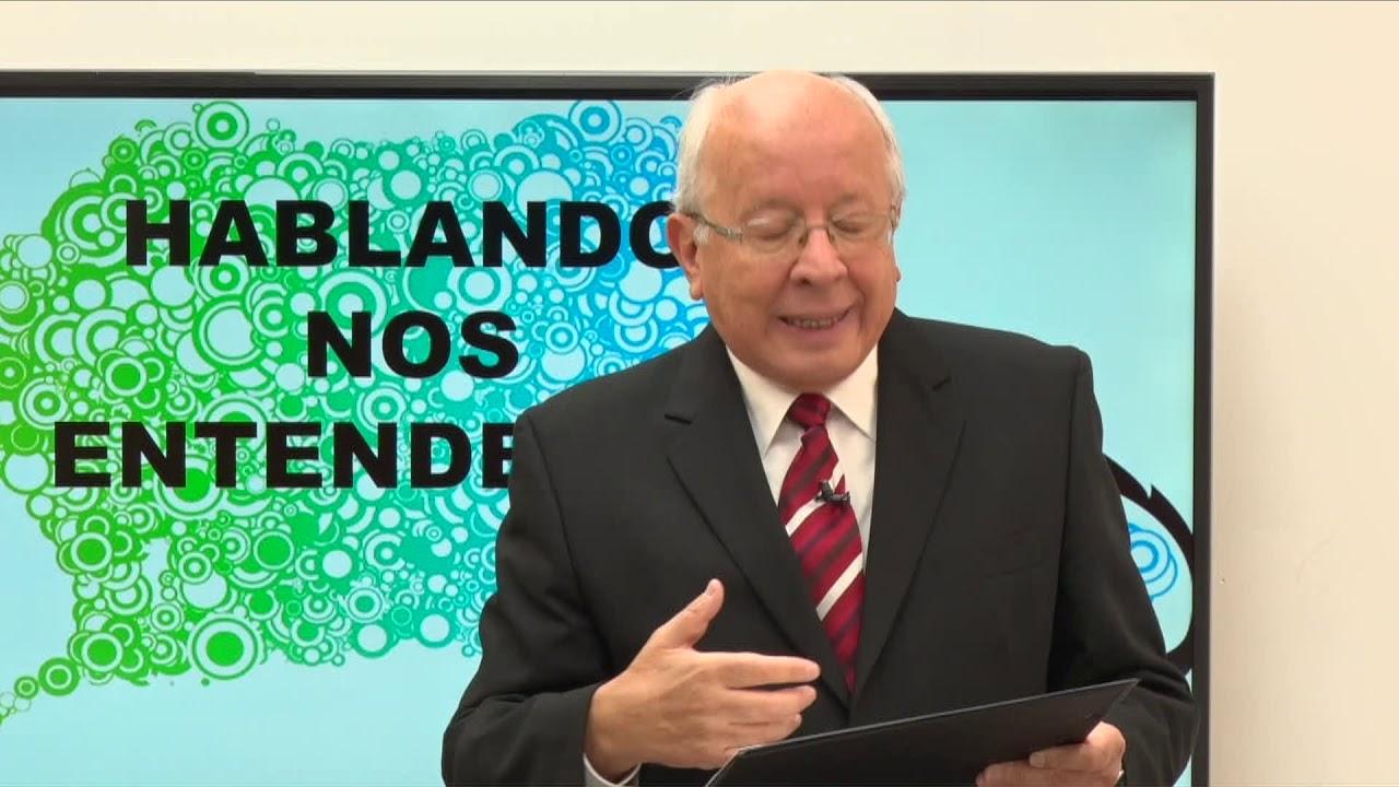 HABLANDO NOS ENTENDEMOS - INVITADO DR BRUNO SÁENZ TEMA SU OBRA