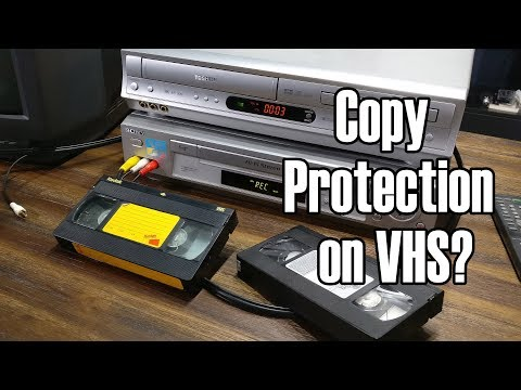 Macrovision:  The Copy Protection in VHS
