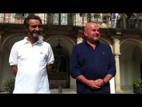 Attilio Fontana e l'#icebucketchallenge