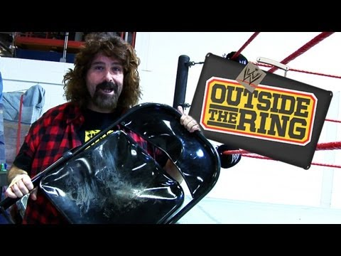Outside the Ring - Inside the WWE warehouse with Mick Foley - Episode 35