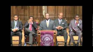 Darrell Bennett - Morehouse Crown Forum (Pt. 1)