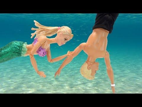 Как Барби Стала Русалкой Мультик Куклы На море #Игрушки Для детей Айкукла тв