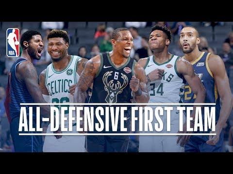 Video - NBA: O Γιάννης Αντετοκούνμπο στην κορυφαία πεντάδα της σεζόν