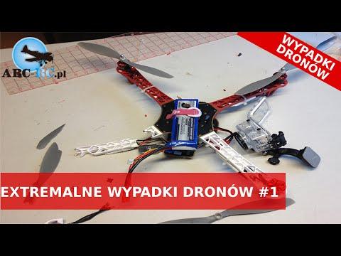 EXTREMALNE Wypadki Dronów Kompilacja | Największe wpadki | 2016
