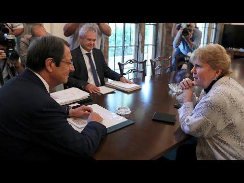 Κύπρος: Συνάντηση Αναστασιάδη – Λουτ για το Κυπριακό