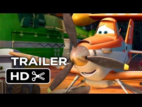 Planes: Fire & Rescue Official Extended Trailer (2014) - Disney Animation Sequel HD