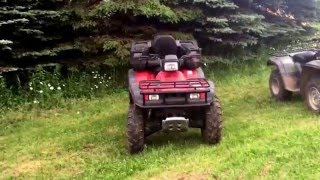 10. Review on 2000 Honda Rancher 350, 2001Honda Foreman 450, 2006 Yamaha Grizzly 660