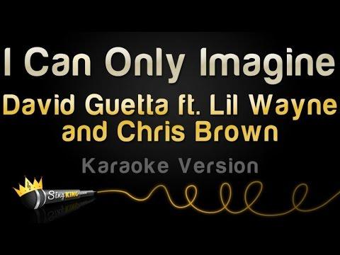 David Guetta ft. Chris Brown and Lil Wayne - I Can Only Imagine (Karaoke Version)