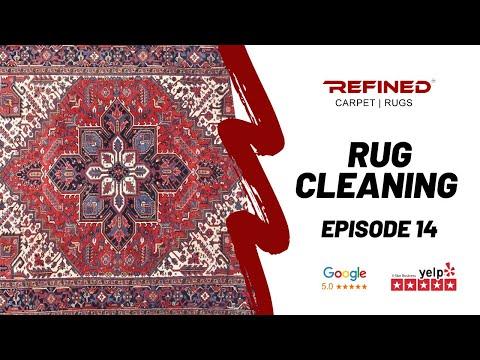 Area Rug Cleaning Anaheim Hills I 714.465.5377 I Refined Rug Restoration