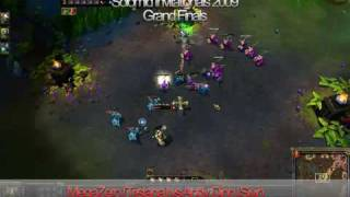 Solomid.net Invitationals Grand Finals (Round 2): Andy Dinh (Sivir) VS MegaZero (Tristana)