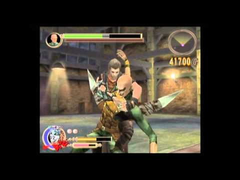 preview-Let\'s Play God Hand! Hard mode - 011 - Stage 2-5: The Three Evil Stooges (ctye85)
