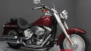 7. 2006  HARLEY DAVIDSON  FLSTF FAT BOY  - National Powersports Distributors