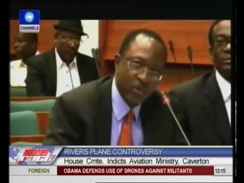 helicopters - The House of Representatives committee set up to investigate the circumstances surrounding the grounding of an aircraft belonging to the Rivers State governm...