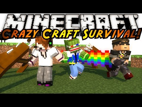 craft - In this episode of Crazy Craft the team recovers from loss, and moves onto try and gather suppli-WTF IS THAT THING! Friends Channels! http://www.youtube.com/...