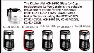 Kitchenaid KCM1402 14 cup Replacement Carafe
