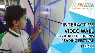 Interactive Video Wall Game - Sharjah Children\'s Reading Festival (OP3)