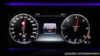 2017 Mercedes-Benz E 220 d T-Modell 194 HP 0-100 km/h & 0-100 mph Acceleration