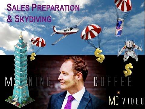 Sales: Essential Preparation Skydive Metaphor