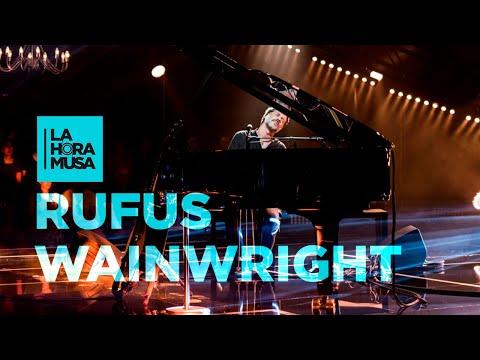 "RUFUS WAINWRIGHT ""Going To A Town""   La Hora Musa   La 2"