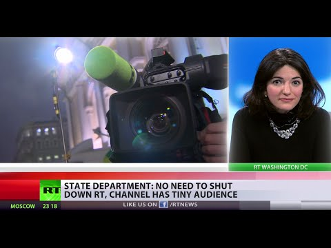 media - There's no need to shut down RT in the US – that's the message coming from Victoria Nuland, assistant secretary at the US State Department. RT's Gayane Chichakyan reports. READ MORE: http://on.rt.