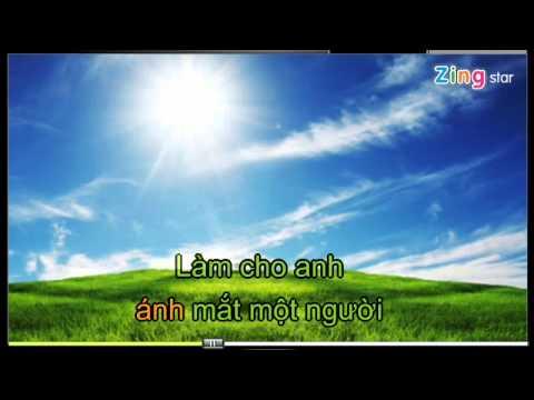 Hát karaoke hay - Bay giữa ngân hà beat karaoke - Quang Hà